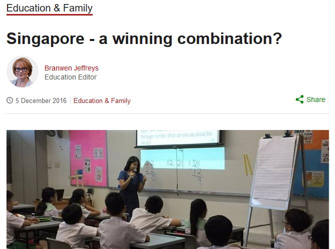 Singapore - A winning combination? - BBC News